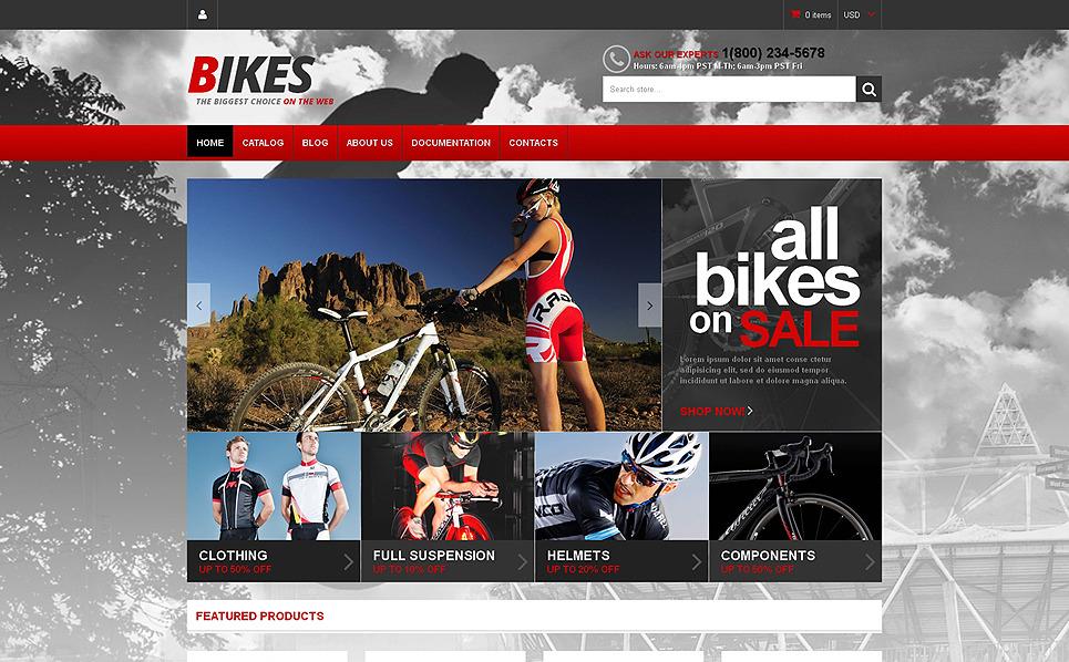 Thème Shopify adaptatif  pour site de BMX New Screenshots BIG