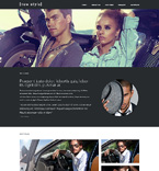 Fashion Website  Template 48288