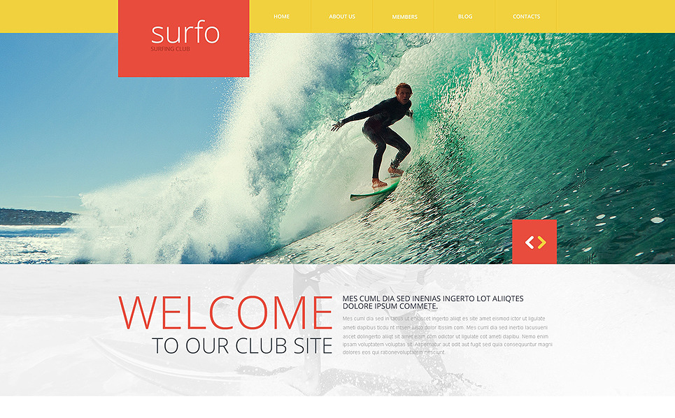 Responsive Website template over Surfen  New Screenshots BIG