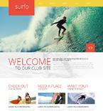 Sport Website  Template 48293