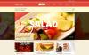 Адаптивний Joomla шаблон на тему фастфуд New Screenshots BIG