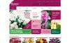 Адаптивний WooCommerce шаблон на тему магазин квітів New Screenshots BIG