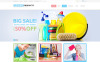 Адаптивный WooCommerce шаблон №48265 на тему клининговая компания New Screenshots BIG