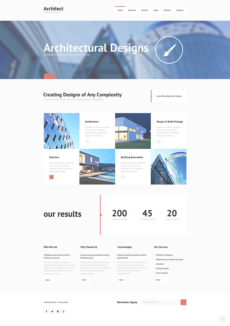 Construction Company Responsive Joomla Template New Screenshots BIG