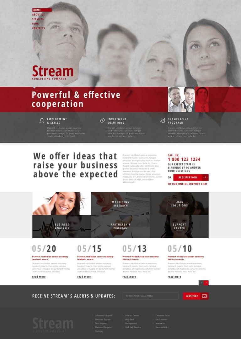 Consulting Responsive WordPress Theme New Screenshots BIG