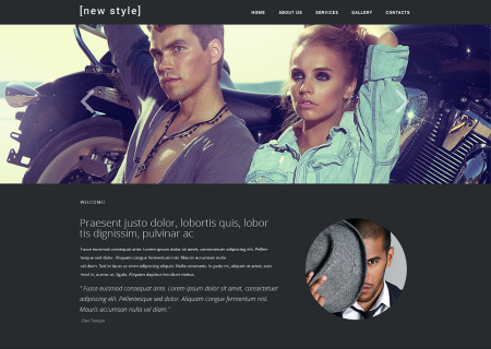 Fashion Blog Responsive