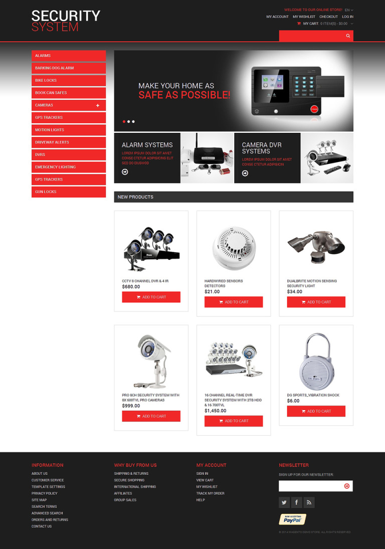 Locksmith Responsive Magento Theme New Screenshots BIG