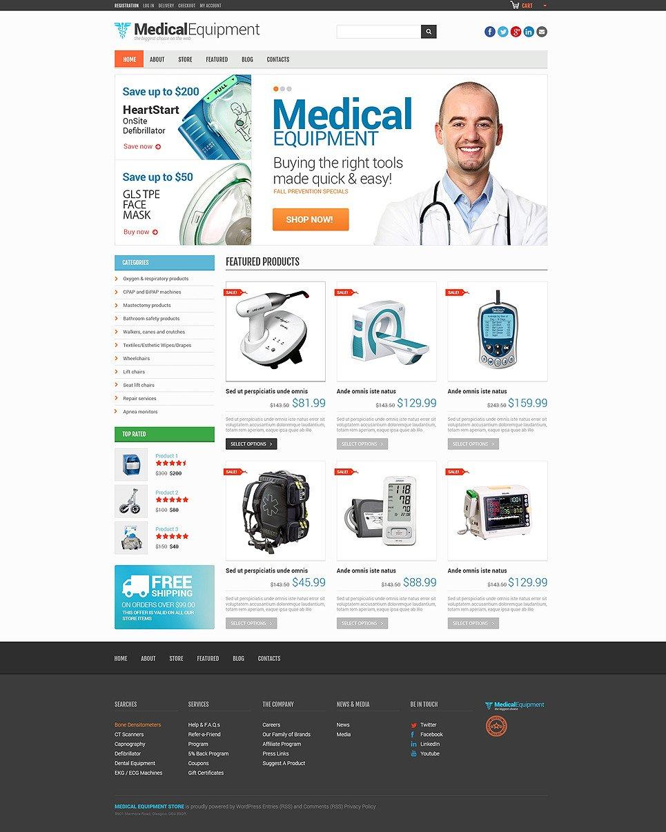Medical Equipment Responsive WooCommerce Theme New Screenshots BIG