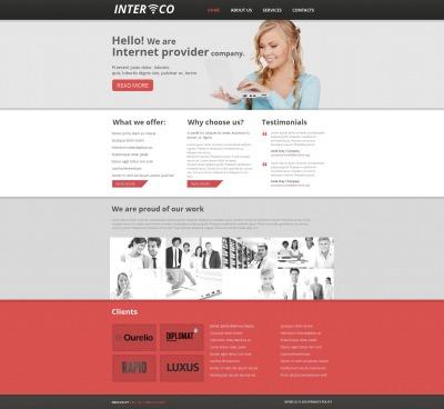 Modèle Moto CMS HTML  pour site d'internet