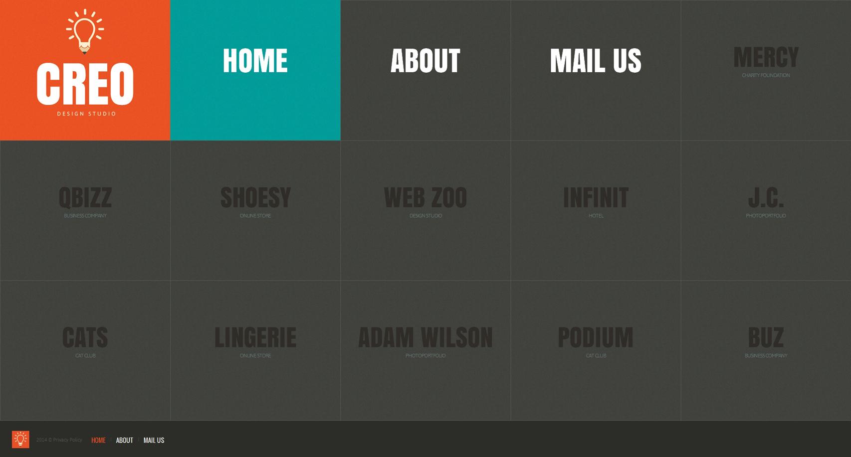 mod u00e8le web bootstrap  48222 pour site de studio de design