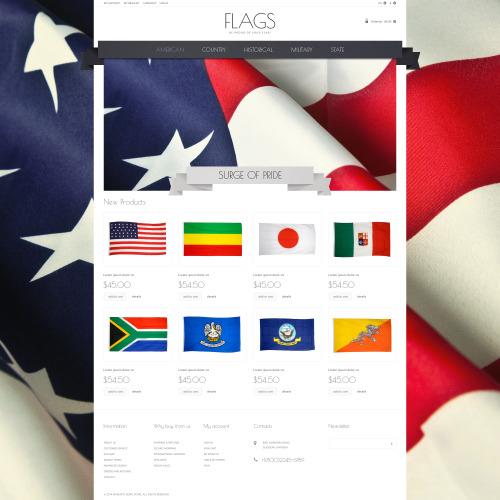 Flag - Responsive Magento Template