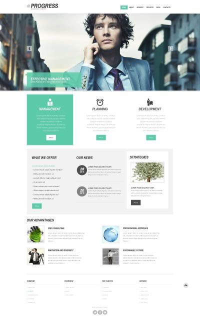 Responsives WordPress Theme für Führungsgesellschaft