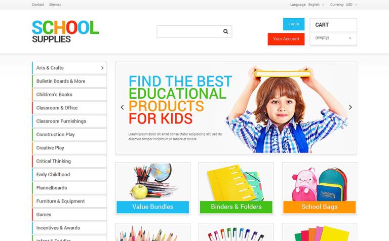 School Supplies PrestaShop Theme