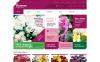 """Tema WooCommerce Responsive #48243 """"Live Flowers"""" New Screenshots BIG"""
