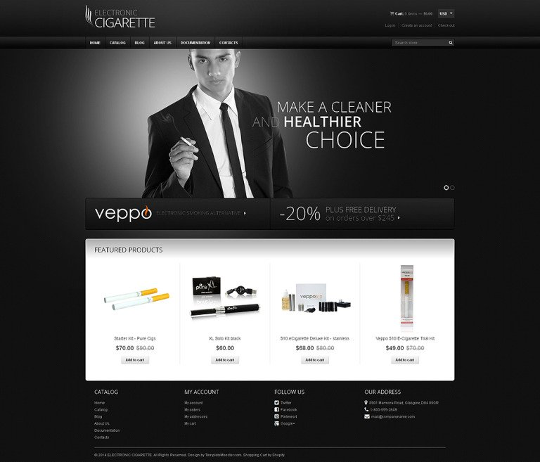 Tobacco Responsive Shopify Theme New Screenshots BIG