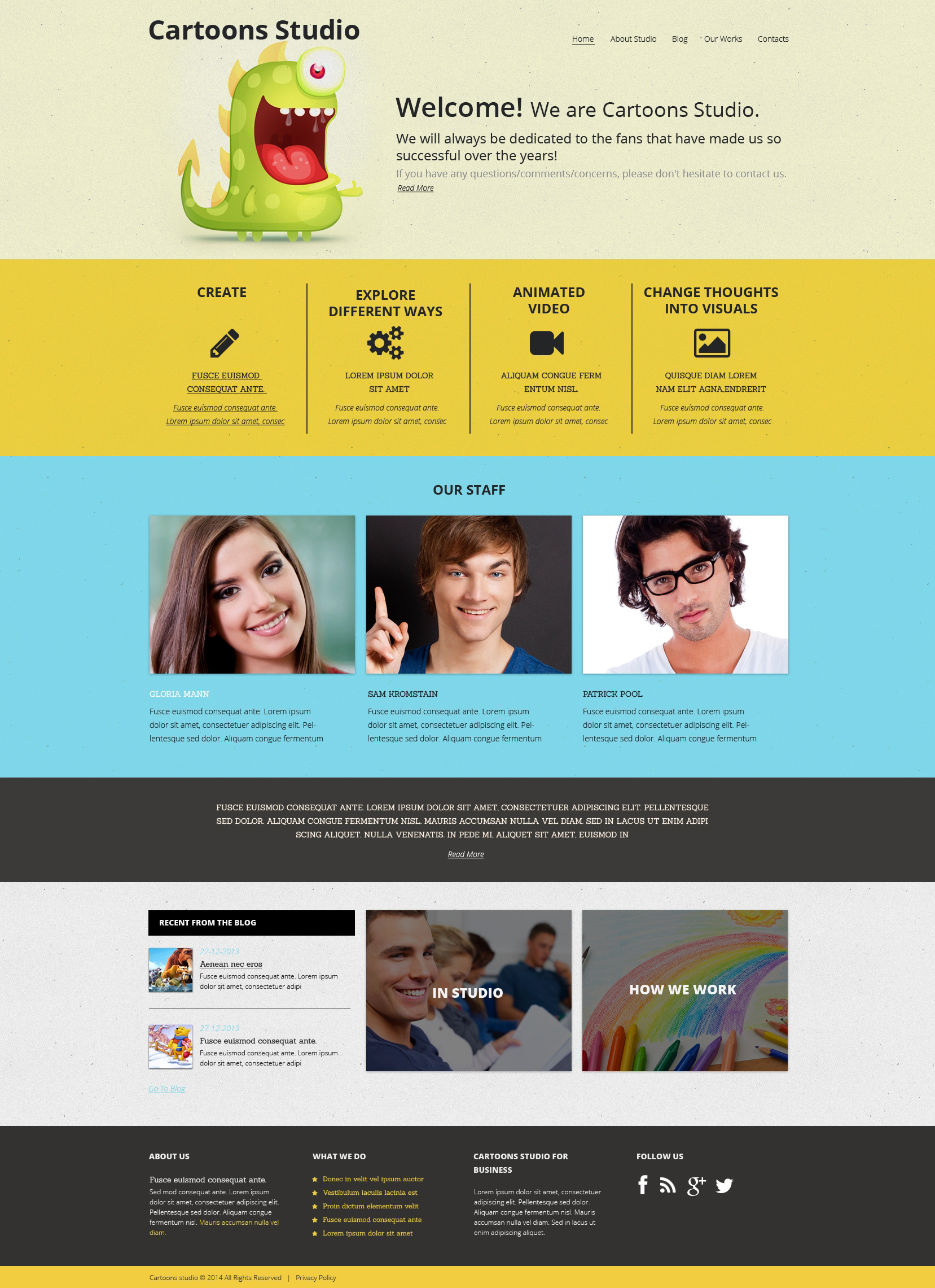 Video Lab Drupal Template