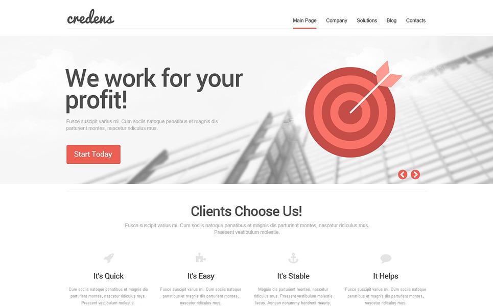 Responzivní WordPress motiv na téma Marketingová agentura New Screenshots BIG