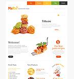 Cafe & Restaurant WordPress Template 48303