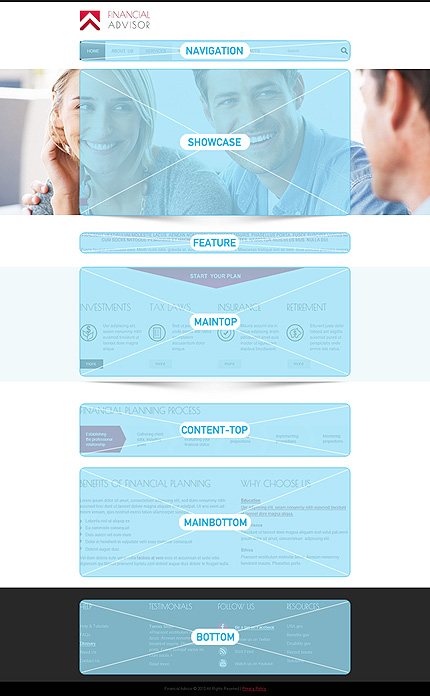Joomla Theme/Template 48306 Main Page Screenshot