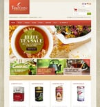 Food & Drink osCommerce  Template 48310