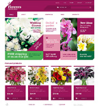 Flowers Jigoshop Template 48314