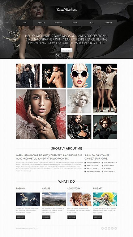 Drupal Template 48315 Main Page Screenshot
