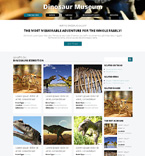 Society and Culture Drupal  Template 48316