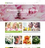 Flowers PrestaShop Template 48318
