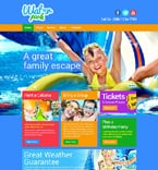 Entertainment Website  Template 48319