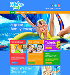 Entertainment Website  Template 48319