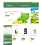 Medical Magento Template 48326