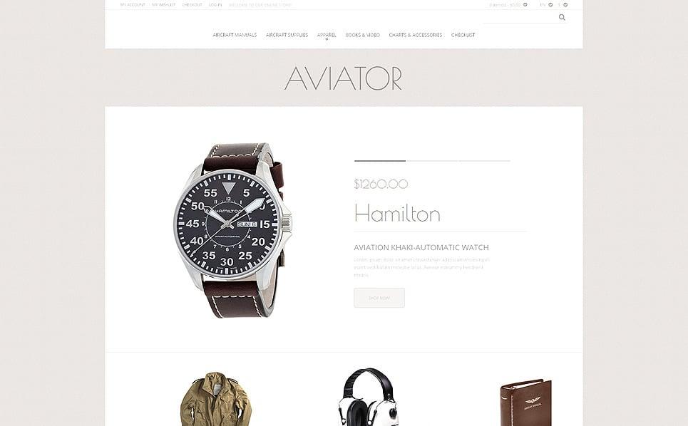 Tema Magento Responsive para Sitio de Tienda de moda New Screenshots BIG