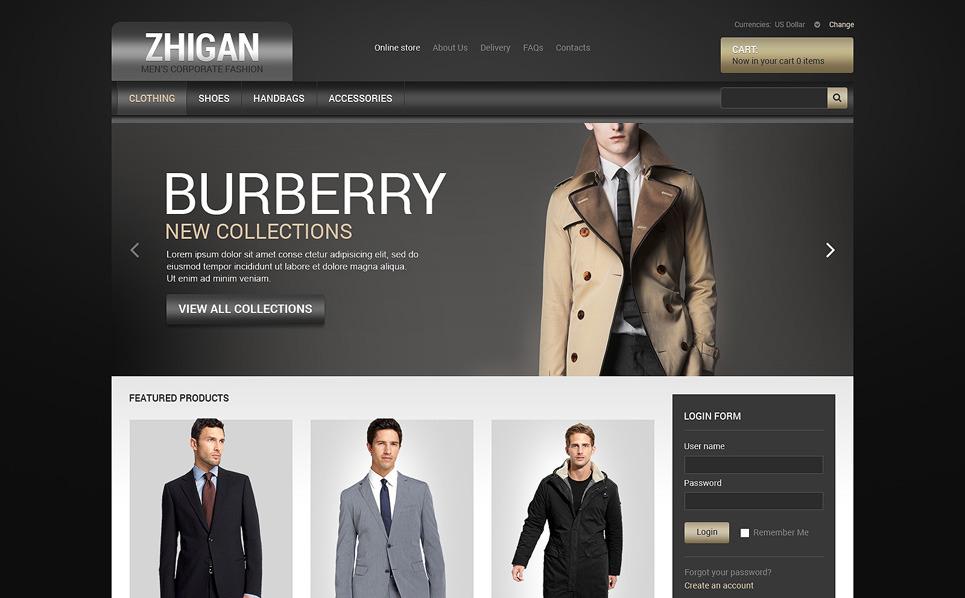 VirtueMart šablona Prodejna oblečení New Screenshots BIG