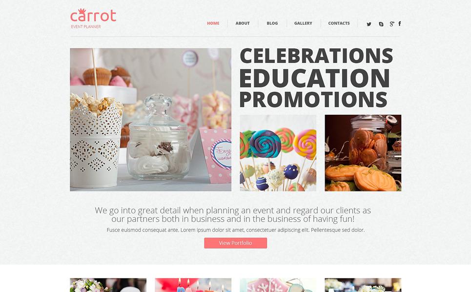 WordPress Theme für Veranstaltungsplaner  New Screenshots BIG