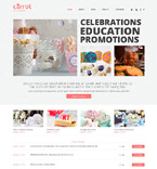 Entertainment WordPress Template 48341