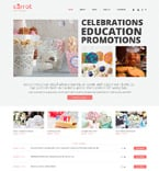 Entertainment WordPress Template 48341