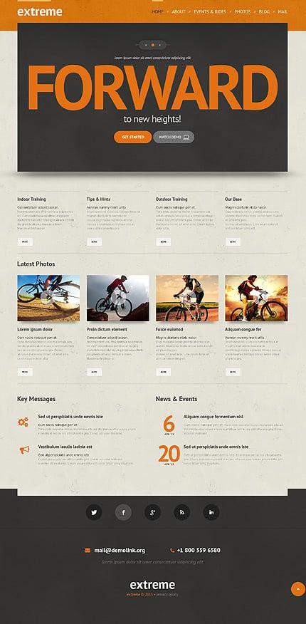 WordPress Theme/Template 48342 Main Page Screenshot