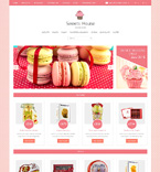 Food & Drink OpenCart  Template 48348
