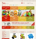 Entertainment Jigoshop Template 48355
