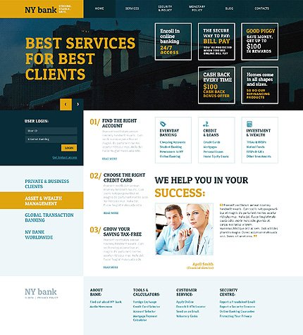 WordPress Theme/Template 48360 Main Page Screenshot