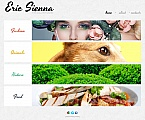 Art & Photography Photo Gallery  Template 48366