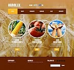 Agriculture Flash CMS  Template 48369