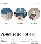 Architecture Moto CMS HTML  Template 48373