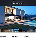 Architecture Moto CMS HTML  Template 48374