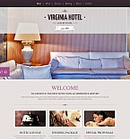 Hotels Moto CMS HTML  Template 48381
