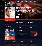 Politics Moto CMS HTML  Template 48382