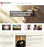 Religious Moto CMS HTML  Template 48383