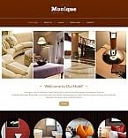 Hotels Moto CMS HTML  Template 48389