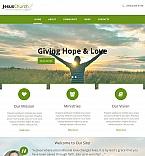 Religious Moto CMS HTML  Template 48391