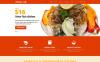 Адаптивный Joomla шаблон №48309 на тему кафе New Screenshots BIG